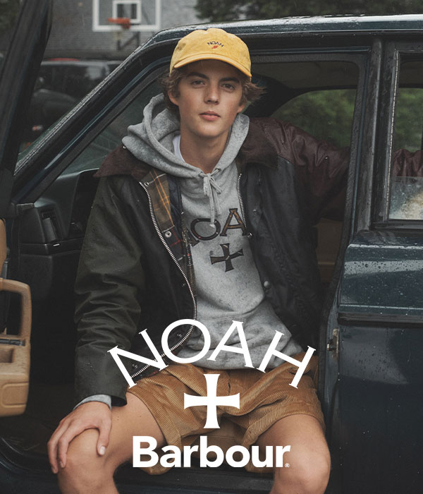 Background image for Barbour x NOAH
