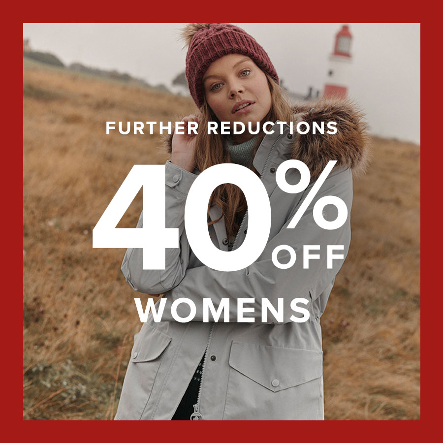 Background image for Further Reductions | Up to 40% off Womenswear