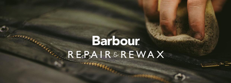 Barbour Repair & Rewax