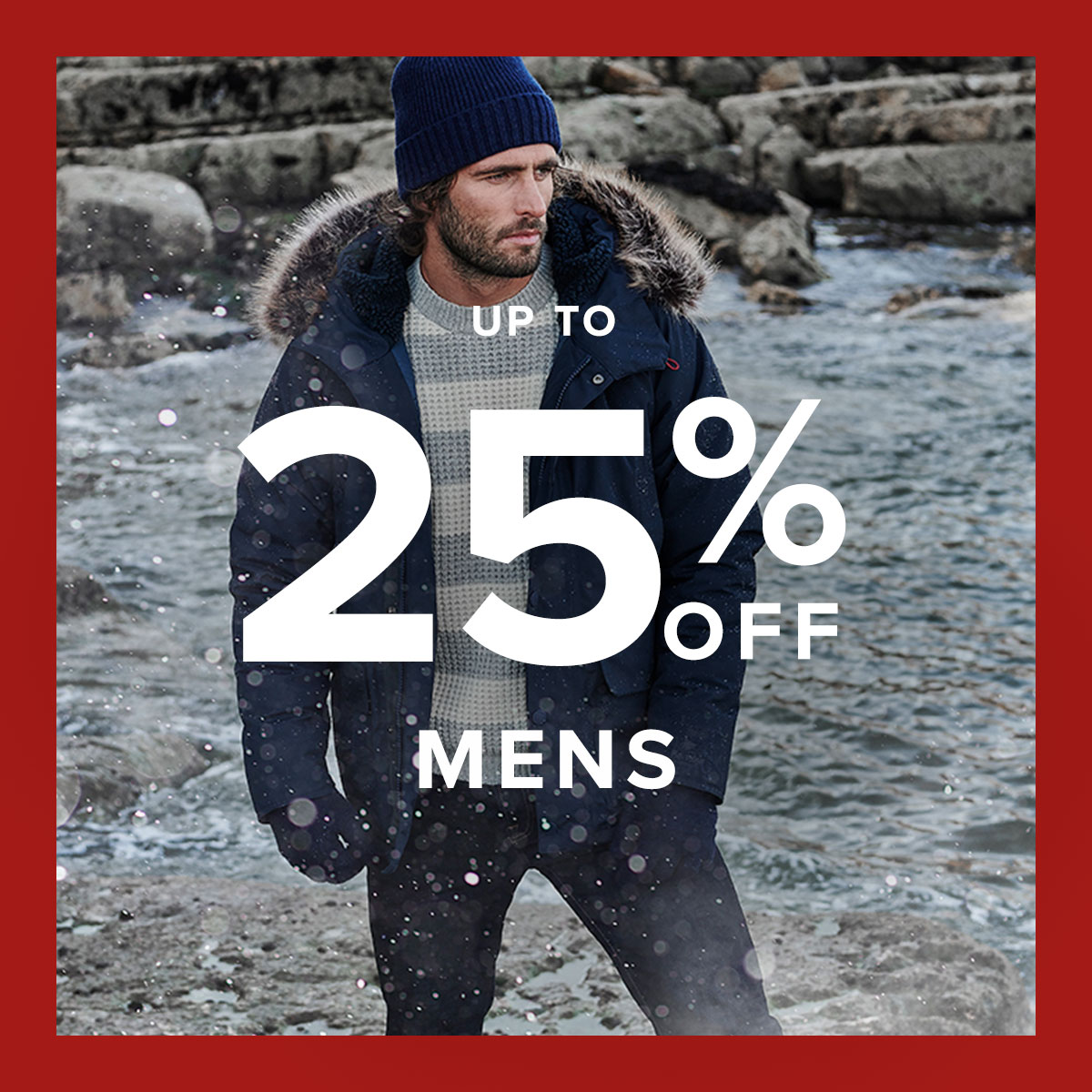 Background image for Sale | Up to 25% off Menswear