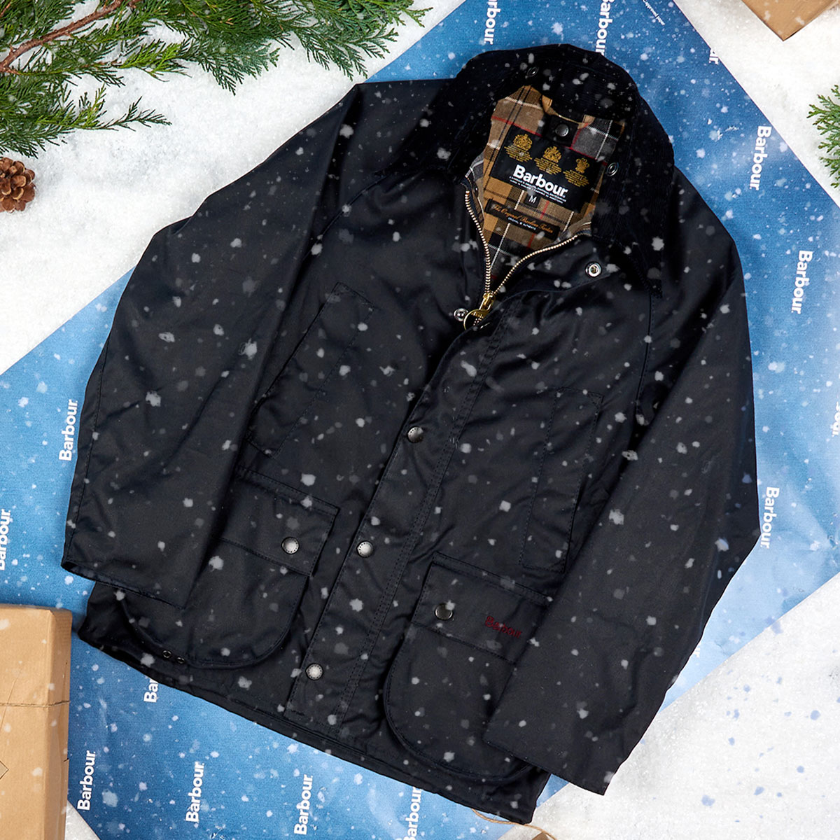 Background image for Barbour Christmas   Win the Perfect Gift