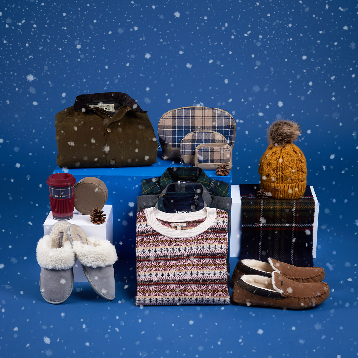 Background image for Barbour Christmas   Gift Guide