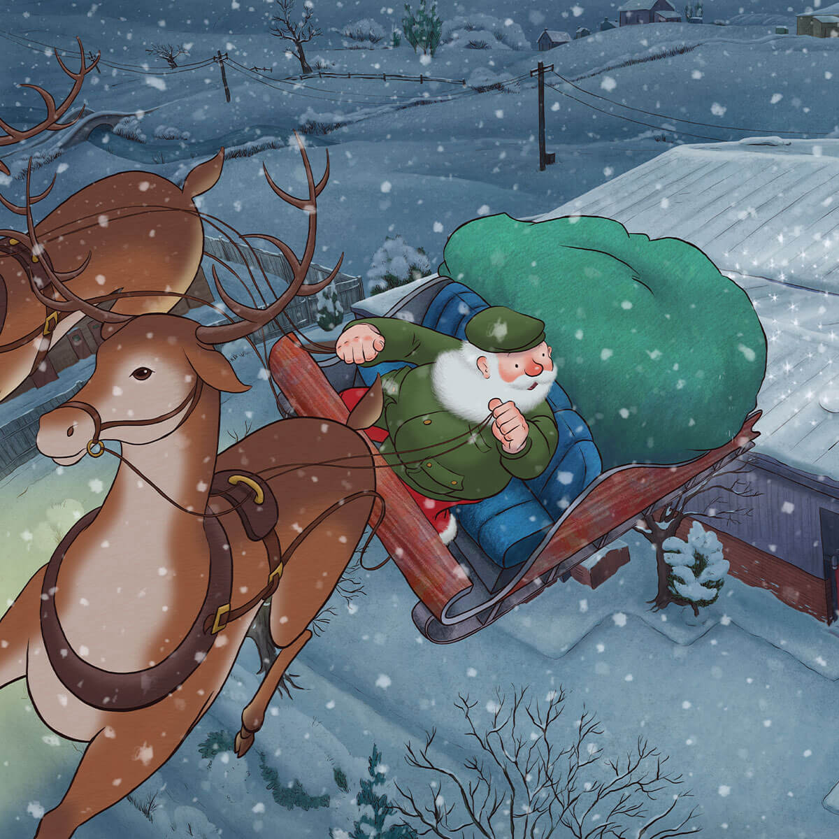 Background image for Barbour Christmas | Watch the Film