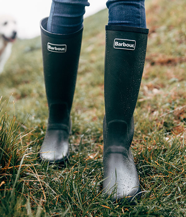 Background image for Barbour Wellies