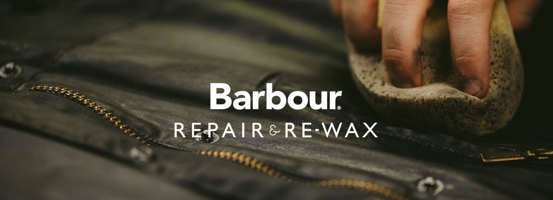 Barbour Repair & Re-Wax