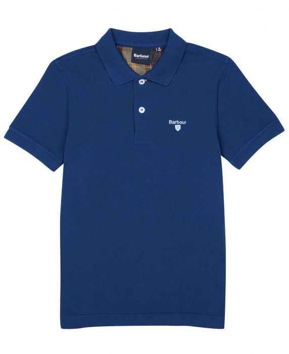 Barbour Boys Tartan Polo Shirt