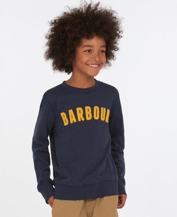 Barbour Boys Prep Logo Sweatshirt