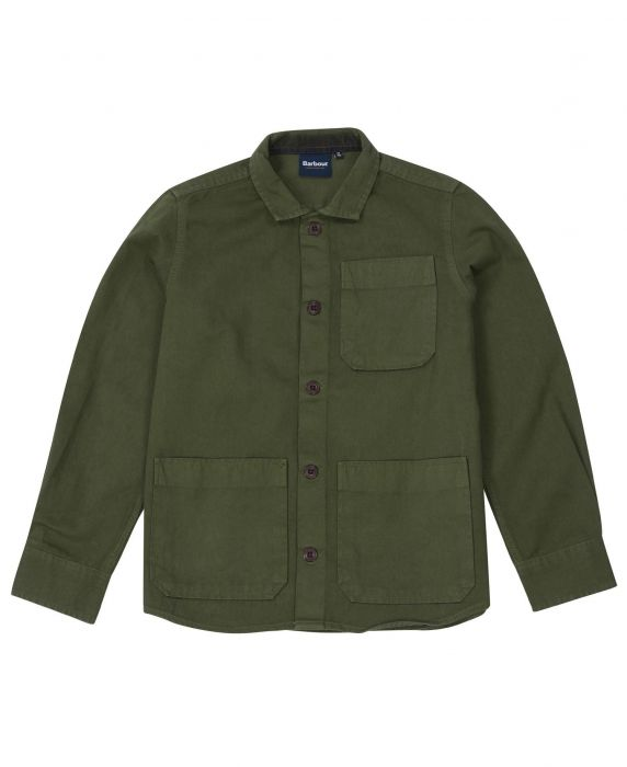 Barbour Boys Stirling Overshirt