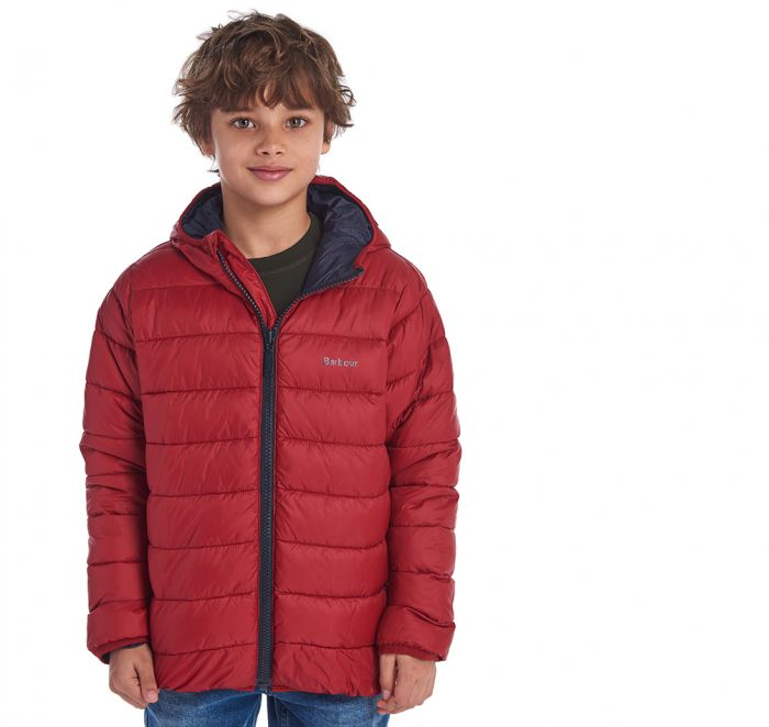 Barbour Boys' Trawl Quilted Jacket