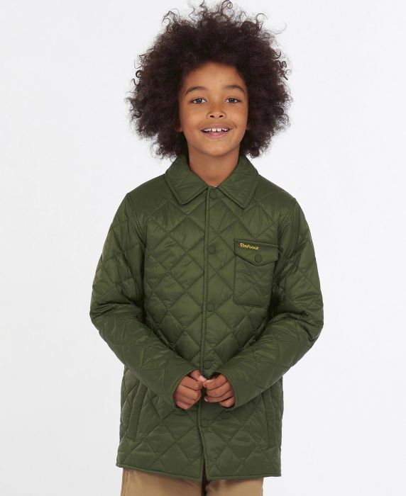 Barbour Boys Tember Quilted Jacket