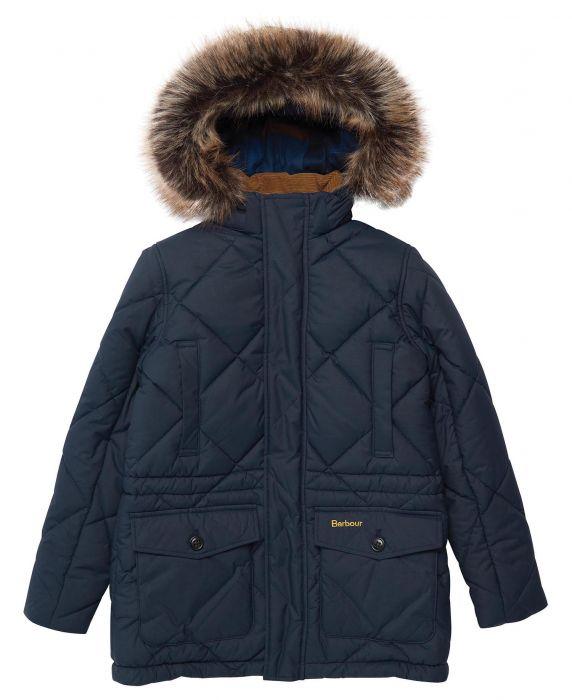 Barbour Boys Holburn Quilted Jacket