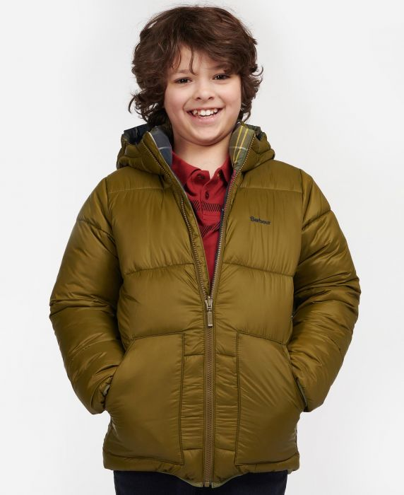 Barbour Boys Hike Quilted Jacket
