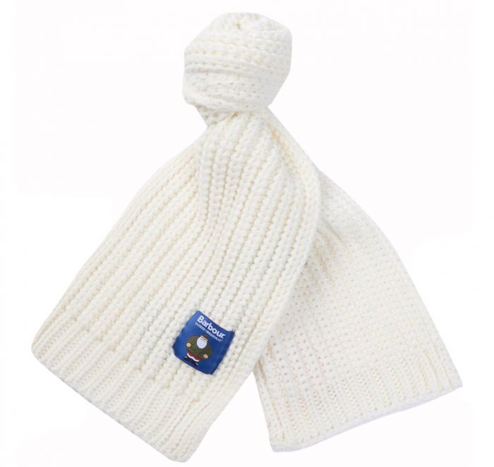 Barbour Children's Father Christmas Knitted Scarf