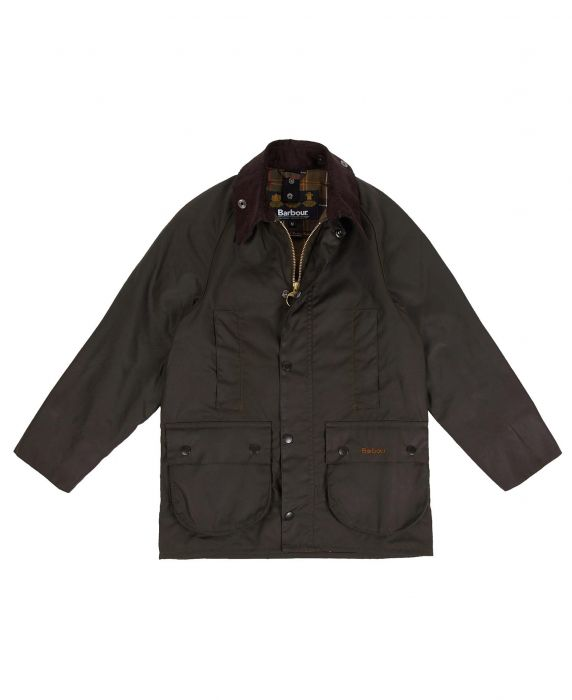 Barbour Boys' Beaufort Waxed Jacket