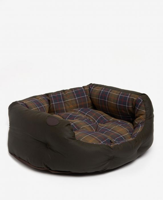 Barbour Wax/Cotton Dog Bed 30in