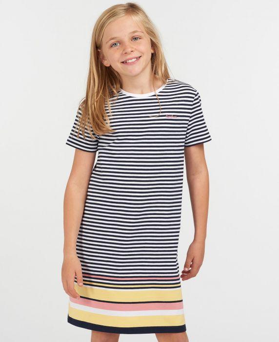 Barbour Girls Harewood Stripe Dress