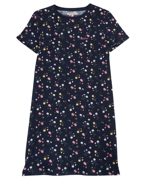 Barbour Girls Harewood Print Dress