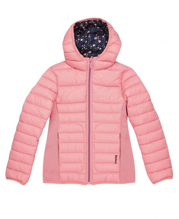 Barbour Girls Saltburn Quilted Jacket
