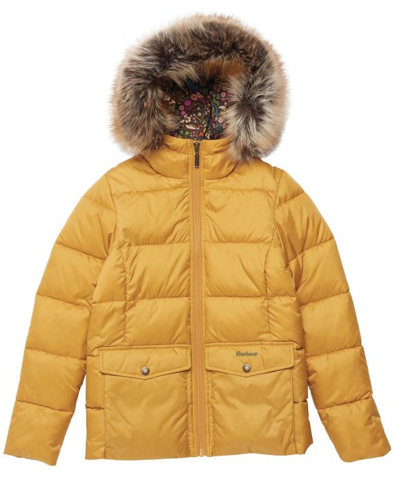 Barbour Girls Bayside Quilted Jacket