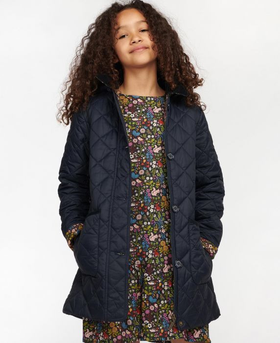 Barbour Girls Lovell Quilted Jacket