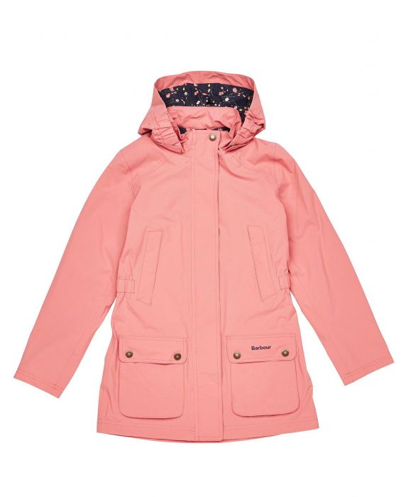 Barbour Girls Clyde Waterproof Jacket