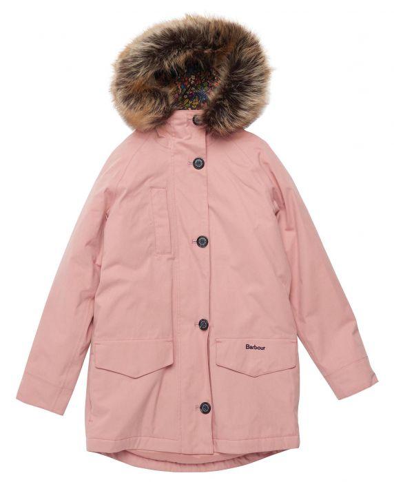 Barbour Girls Walkworth Waterproof Jacket