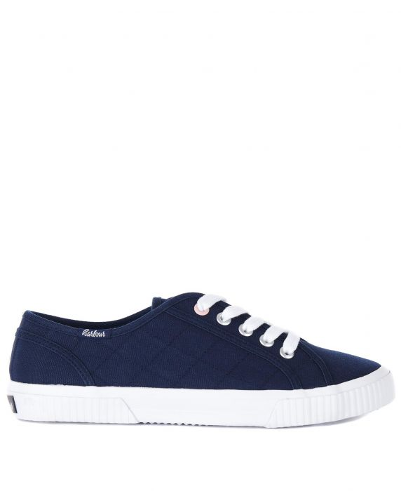 Barbour Hailey Canvas Trainers