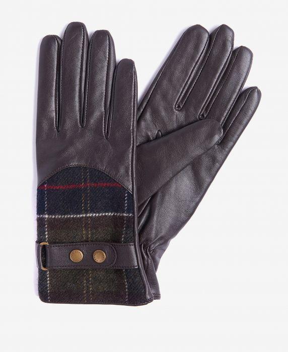 Barbour Dee Tartan Gloves
