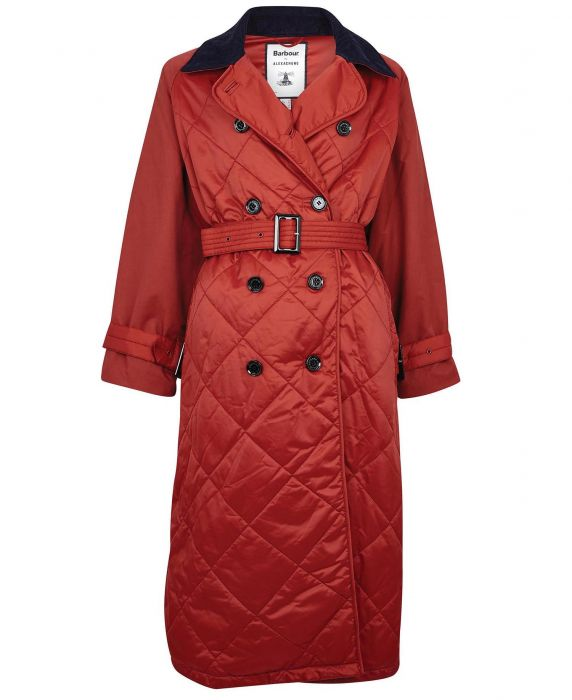 Barbour by ALEXACHUNG Delia Quilted Jacket