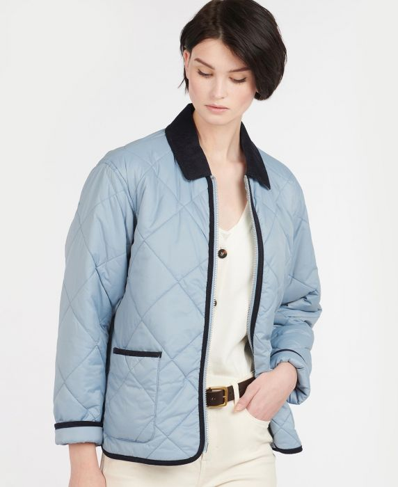 Barbour by ALEXACHUNG Quilty Quilted Jacket