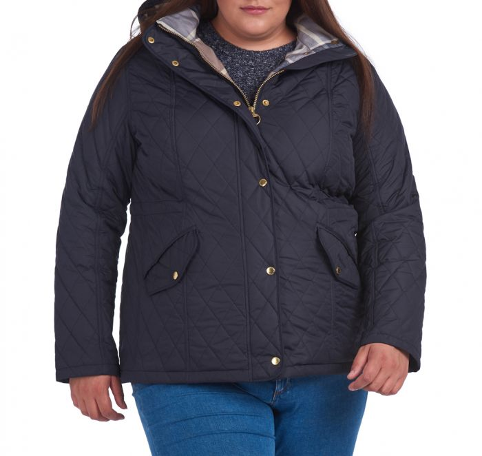 Barbour Millfire Quilted Jacket (Plus Size)