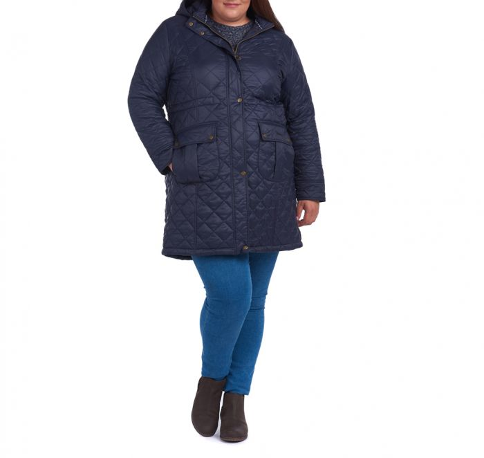 Barbour Jenkins Quilted Jacket (Plus Size)