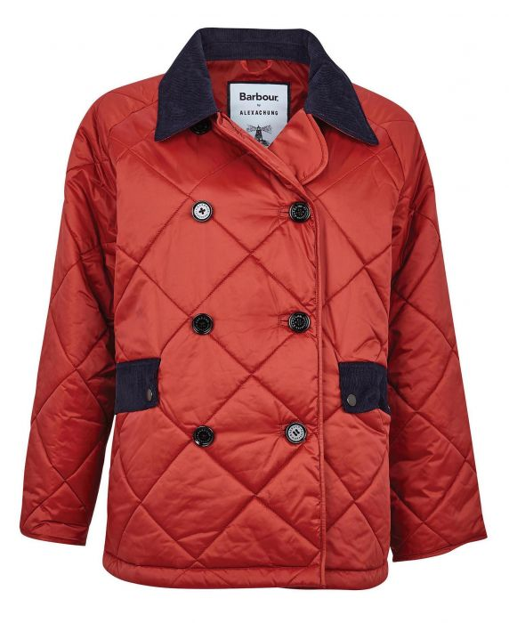 Barbour by ALEXACHUNG Delia Short Quilted Jacket