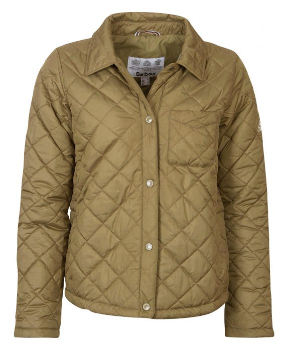 Barbour Blue Caps Quilted Jacket