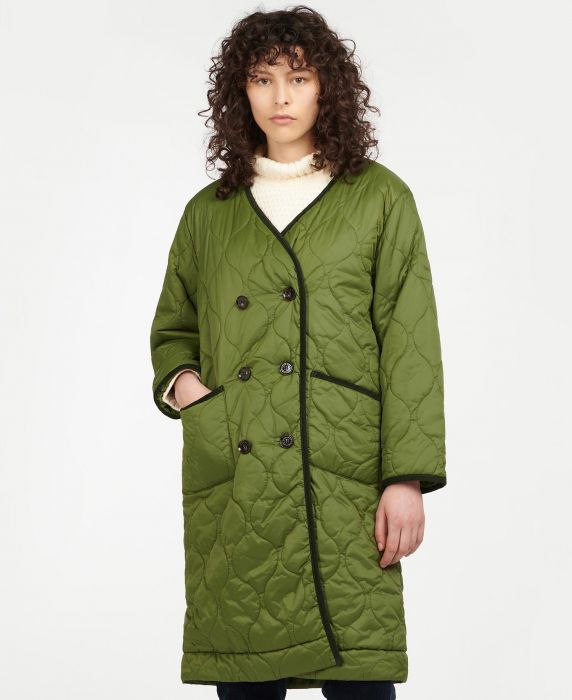 Barbour by ALEXACHUNG Agnes Quilted Jacket