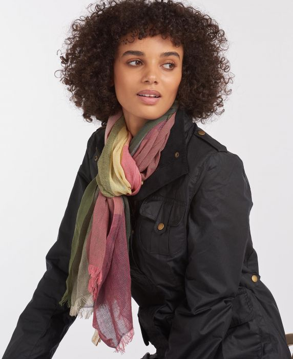 Barbour Newbury Check Wrap