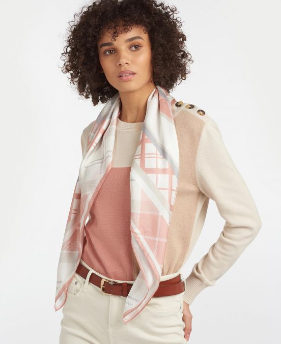 Barbour Tartan Silk Square