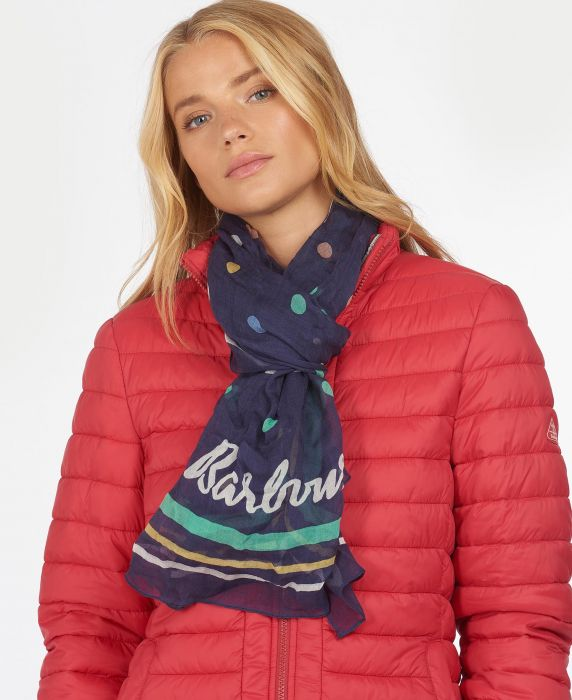 Barbour Polka Dot Wrap