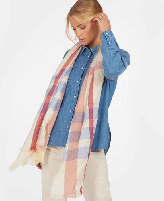 Barbour Waterside Plaid Wrap