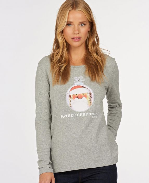 Barbour Father Christmas Alice T-Shirt