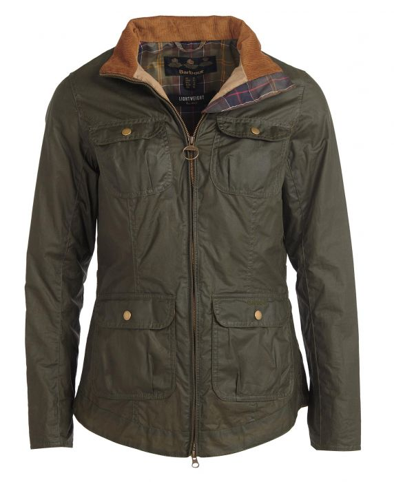 Barbour Lightweight Filey Waxed Cotton Jacket