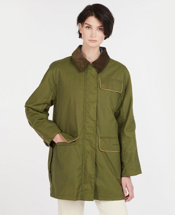 Barbour by ALEXACHUNG Cyril Waxed Cotton Jacket