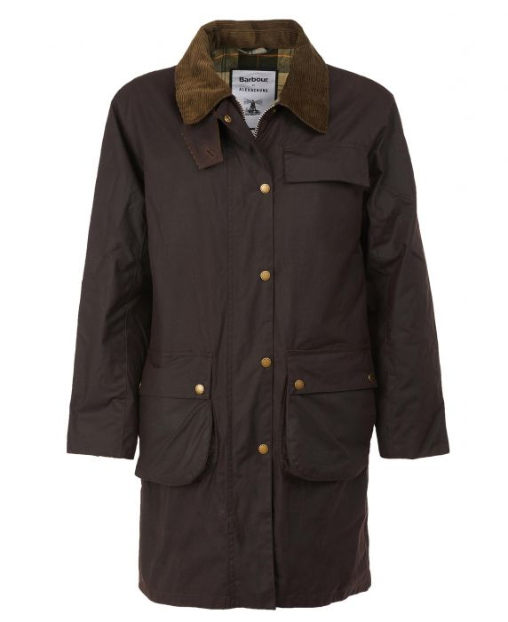 Barbour by ALEXACHUNG Rowan Waxed Cotton Jacket