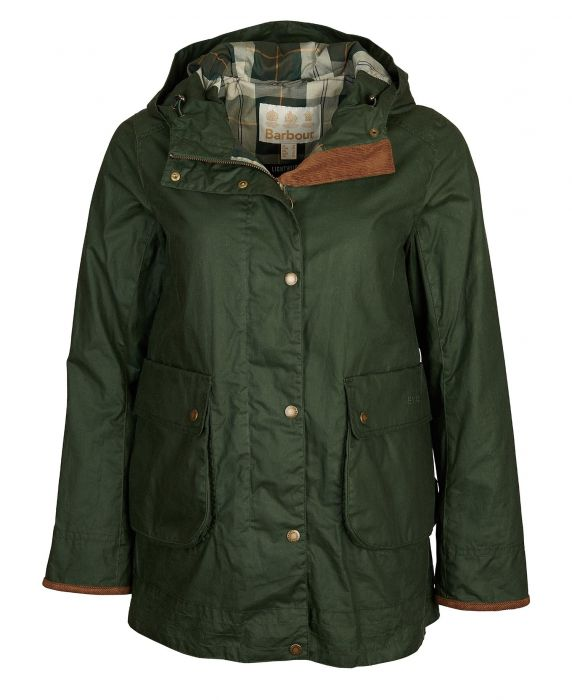 Barbour Victoria Waxed Cotton Jacket