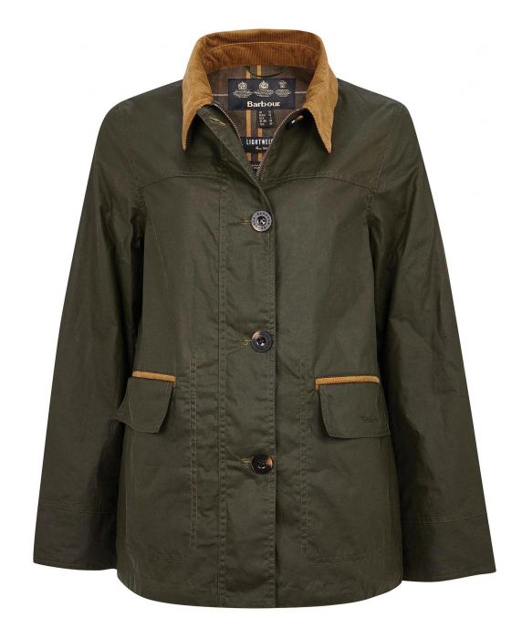 Barbour Christie Waxed Cotton Jacket