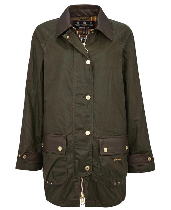Barbour Winslet Waxed Cotton Jacket