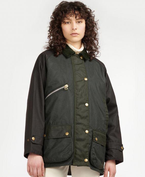 Barbour by ALEXACHUNG  Benedict Wax Jacket