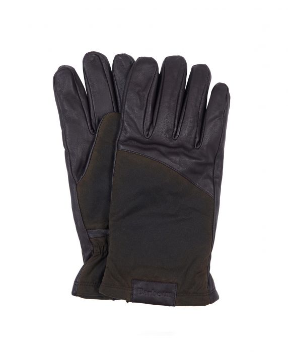Barbour Hebden Leather Gloves