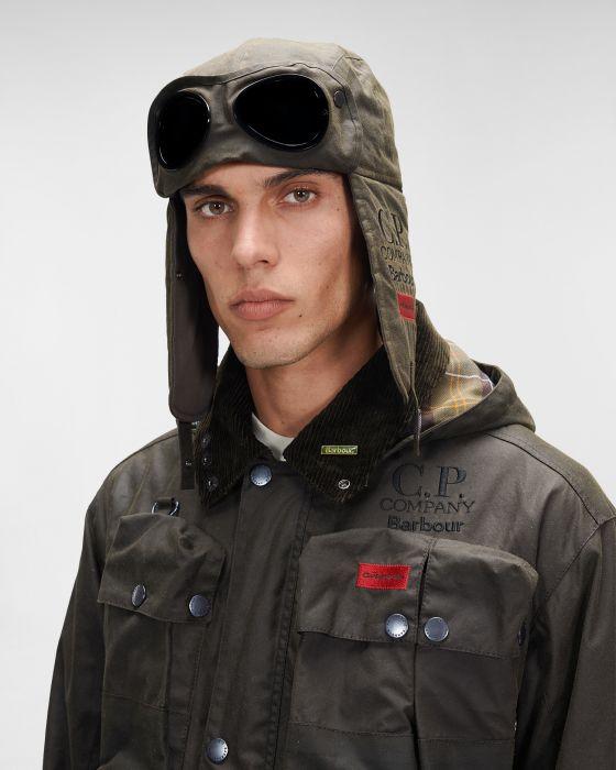 Barbour x C.P. Company Trapper Hat