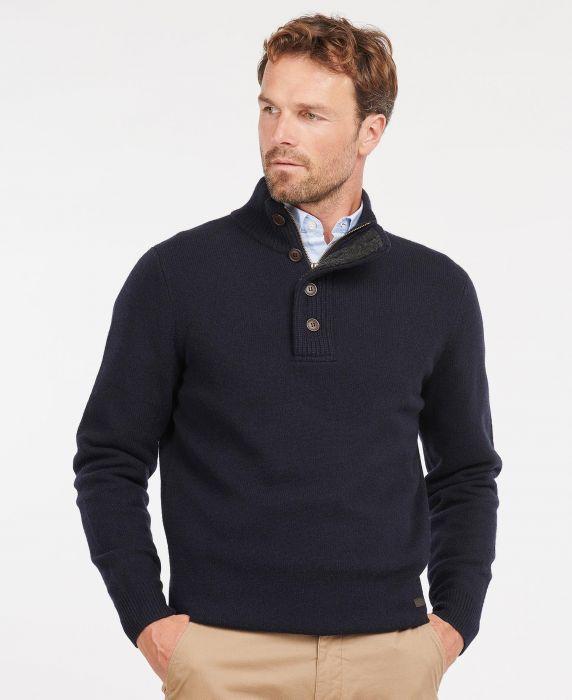 Barbour Patch Half Zip Sweater